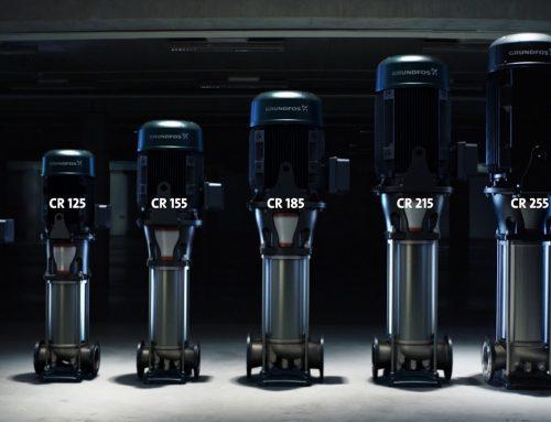Grundfos New CR Pumps 95, 125, 155, 185, 215 & 255