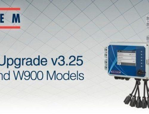 Walchem Software Upgrade v3.25 for the W600 & W900