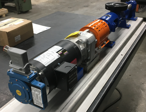 Moyno 6P2 L-Series Pump with Motor Encoder