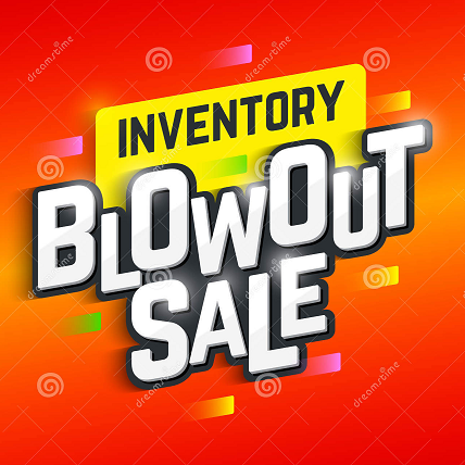 Inventory Sale!