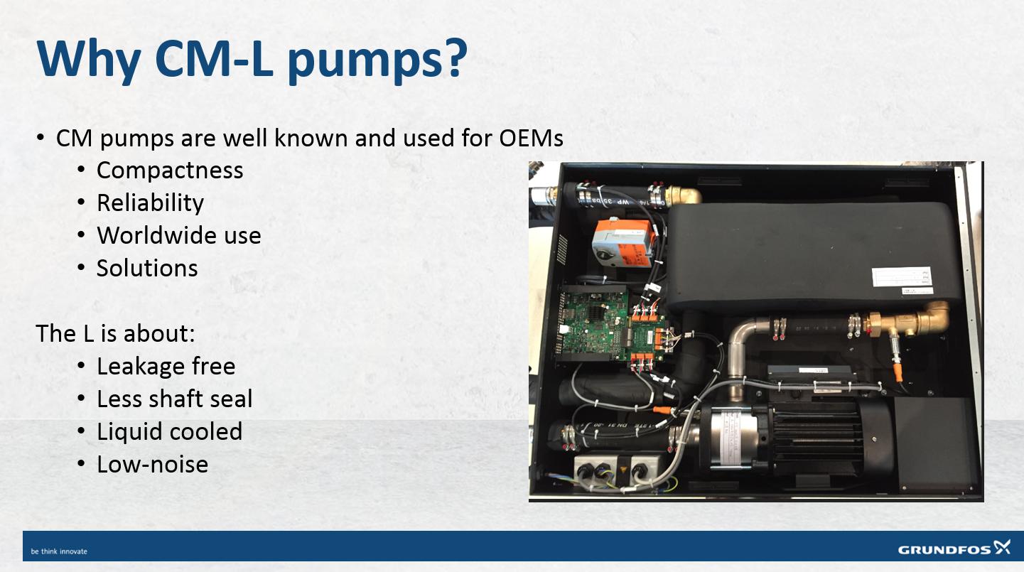 Grundfos CM-L Sealess Pump