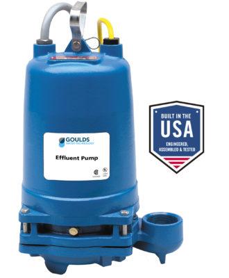 goulds wastewater pump