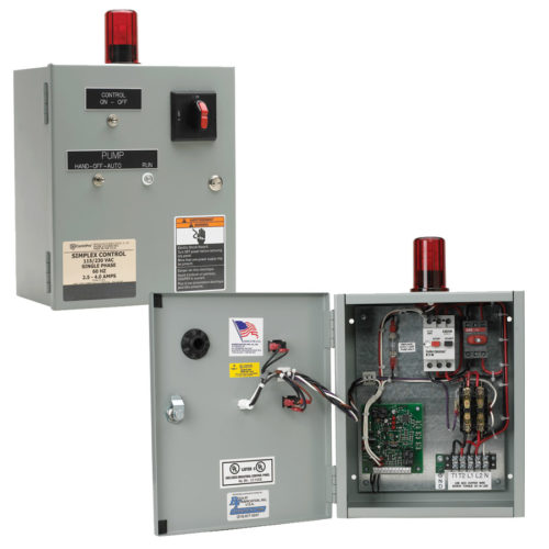 GOULDS DUPLEX CONTROL PANEL