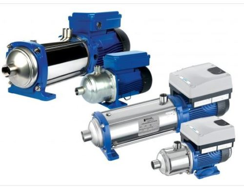 Goulds e-HM and e-HME Multi-Stage Pumps