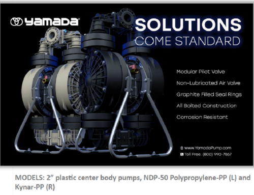 Yamada NDP-50 Polypro & Kynar Now with Plastic Center Bodies