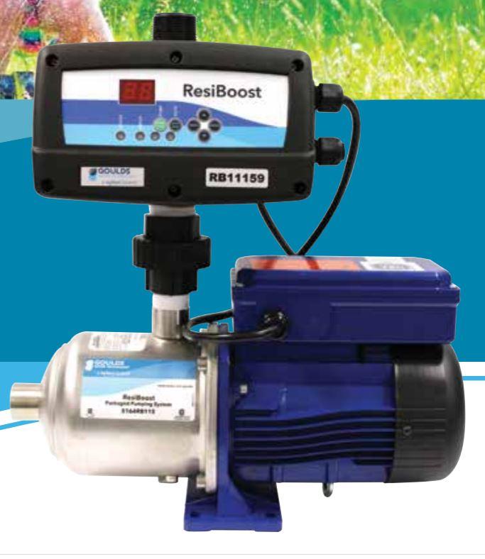 goulds booster pump